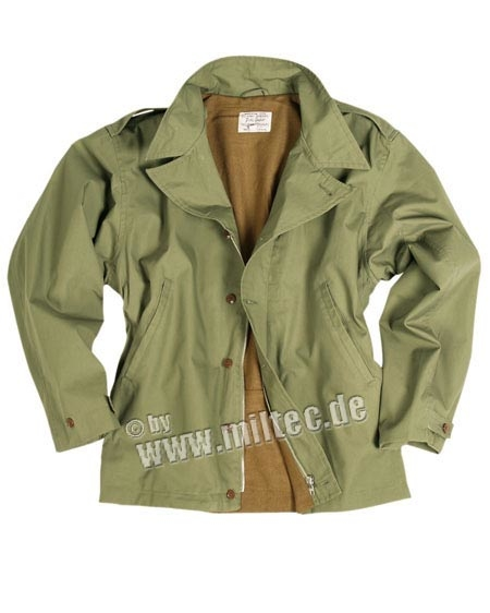 Field Jacket US M41 Khaki WWII MIL-TEC Replica