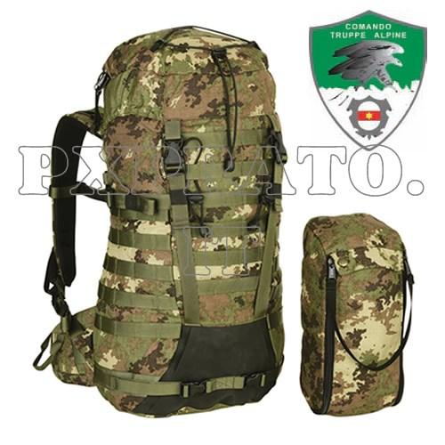 Zaino Alpino Vegetato FERRINO Militare 35 Litri Modulare Tattico Esercito  Italiano 960348366272