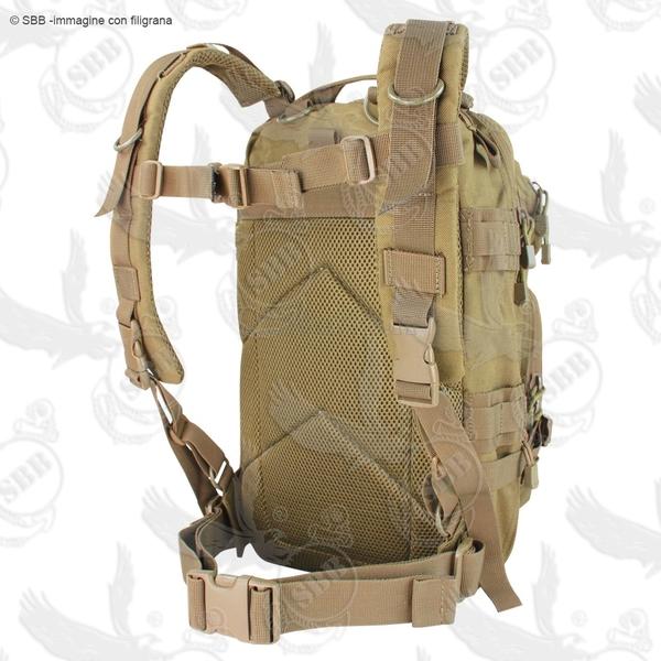 8895567c44 Zaino Militare Coyote Tan 30 Litri Modulare Tat.