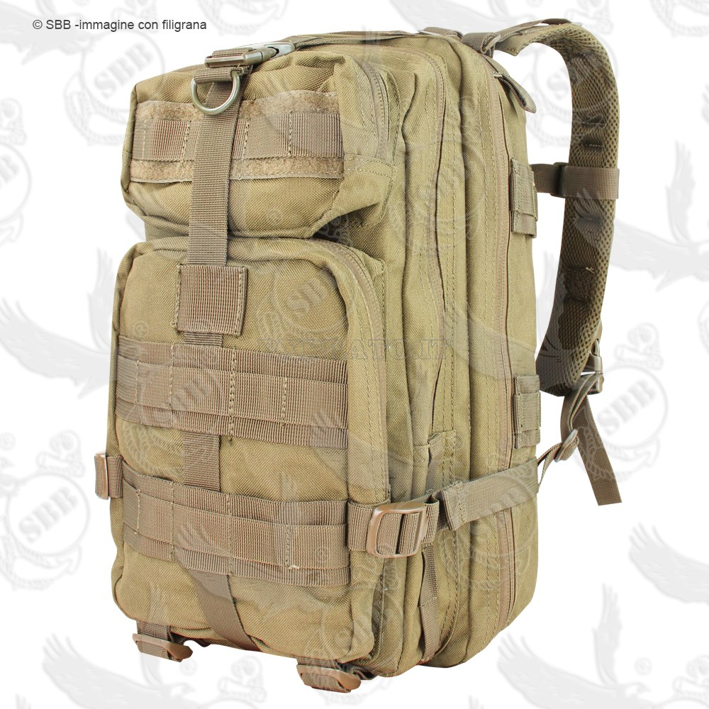 1eae5dfe5b Zaino Militare Coyote Tan 30 Litri Modulare Tattico CONDOR USA Compact  Assault Pack - PXPrato