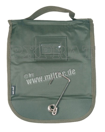Beauty Case Militare Verde Porta Accessori da Bagno Large MIL-TEC