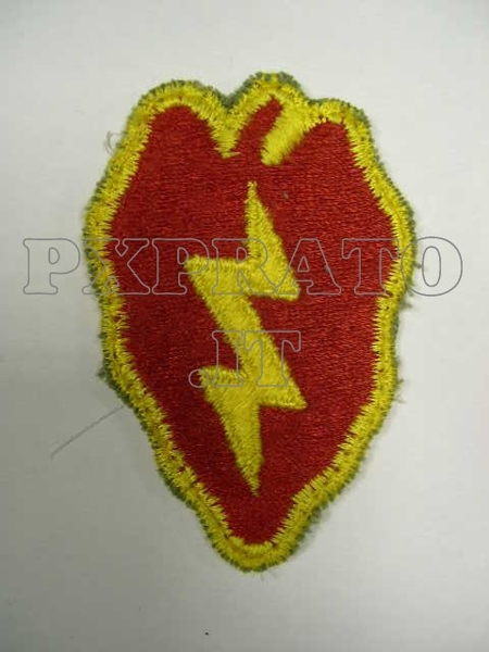 Patch 25 Divisione Di Fanteria Color