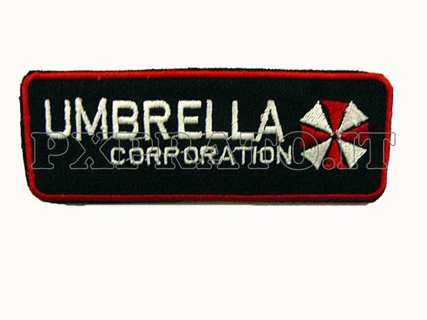Patch SoftAir Toppa Soft Air Umbrella Nero Ricamo con Velcro
