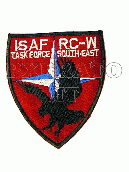 Patch Toppa Missione Isaf Camp Arena Herat Folgore Afghanistan