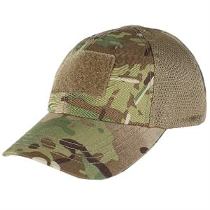CONDOR Berretto Militare Tattico Cappello SoftAir Mimetico MultiCam con  Visiera Velcro Retina Mesh Tactical Cap f39f2444565f