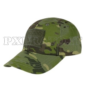 Berretto Cappellino Mimetico MultiCam Tropic SoftAir Militare CONDOR  Outdoor USA Tactical Baseball Cap con Visiera Velcri 66fee0860af2