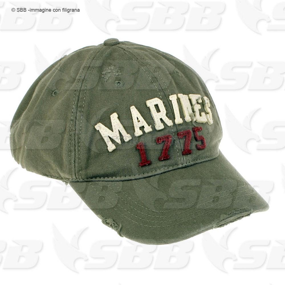 Berretto Cappello Militare Uomo Marines 1775 - PXPrato 8eec6737b122