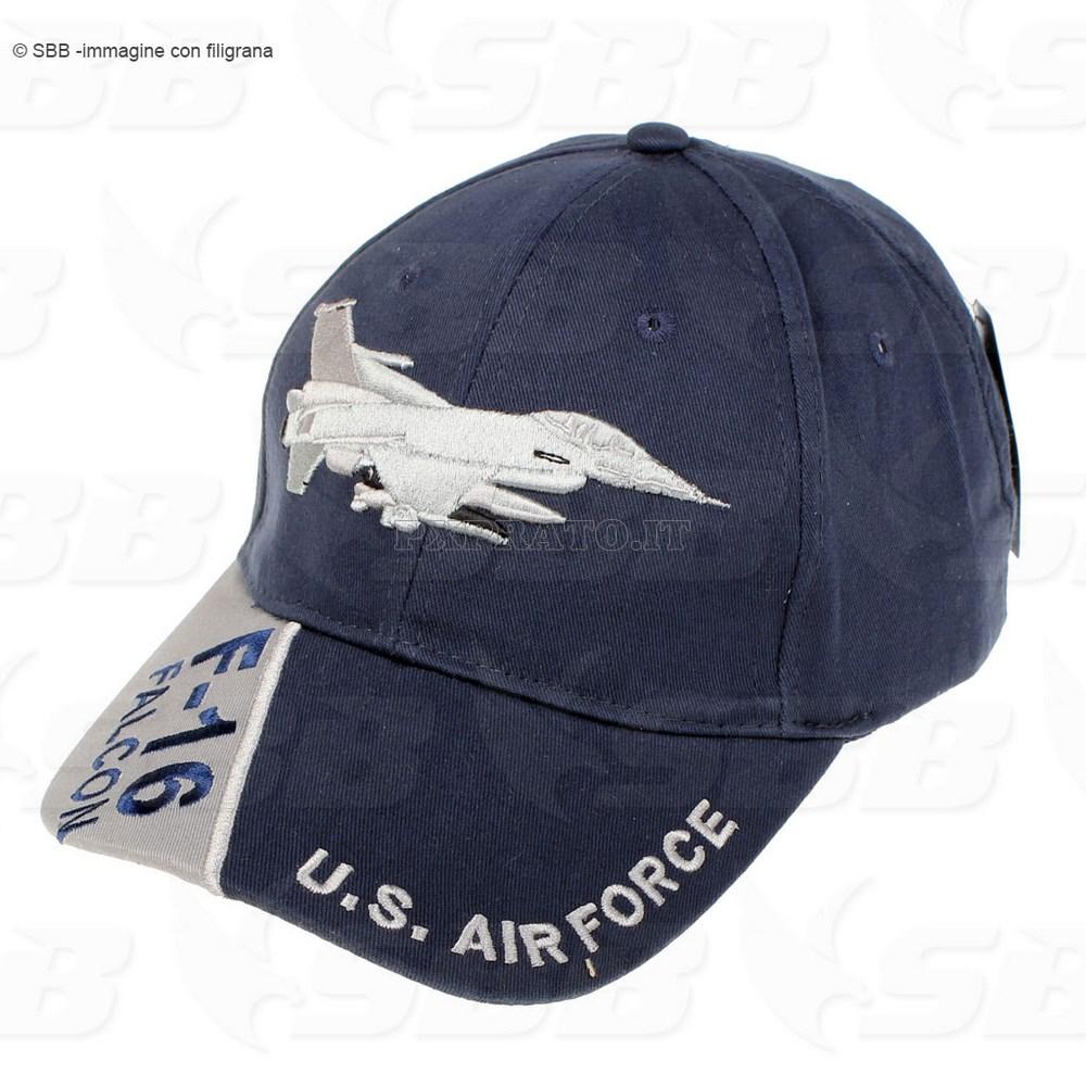 Berretto Cappello Militare Uomo U.S. Air Force F-16 - PXPrato 575fca4ca5d9