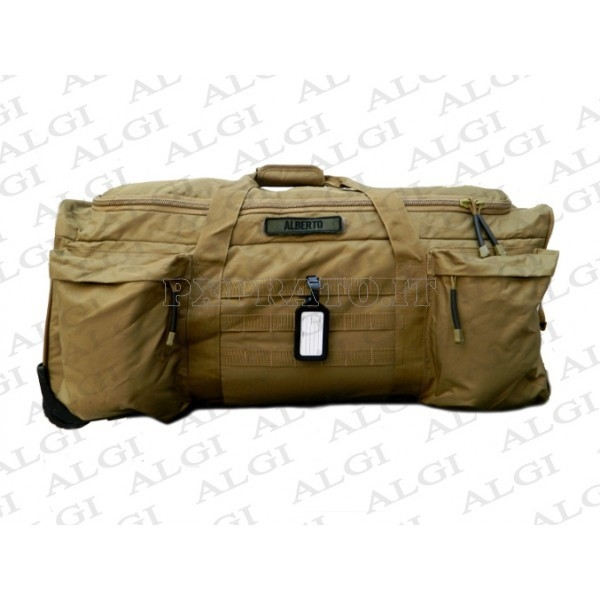 959288c715 Trolley Militare Borsone Desert Tan Esercito It..