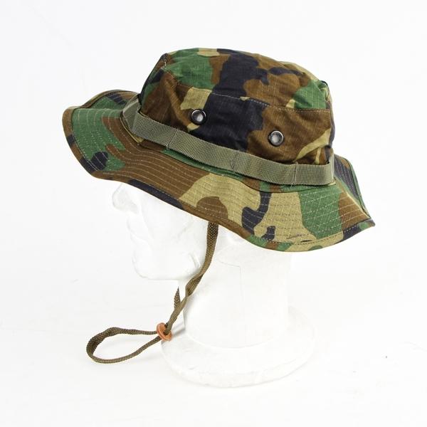 Cappello Jungle Woodland Camo Militare Caccia d0e36f7d4bac