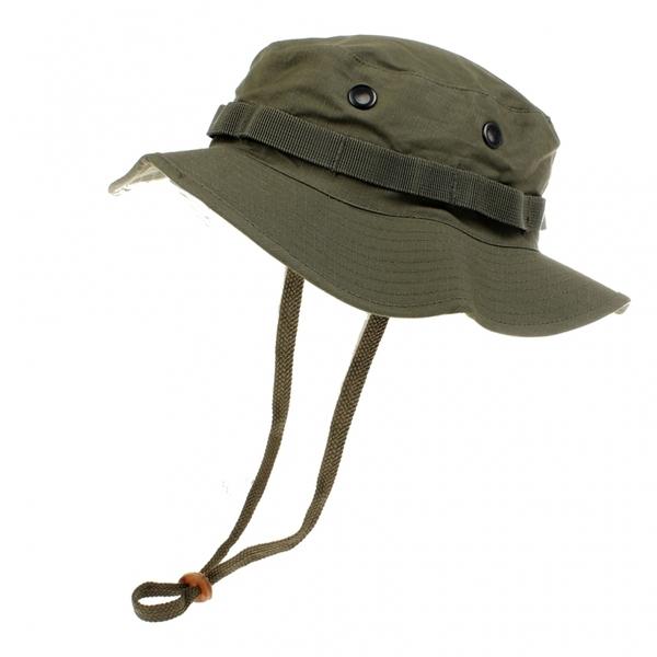 Cappello Jungle Verde Oliva Militare Boonie Hat 2707fb819518
