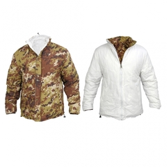 Lite Jacket Reversibile VegetatoBianco Piumino SBB